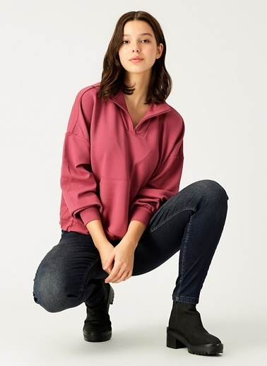 Vero Moda Sweatshirt Mor